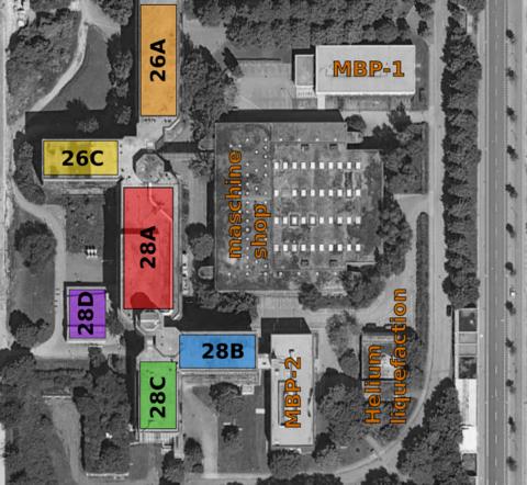 Karte des Physikzentrums